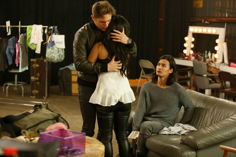 Mariana hugging nick