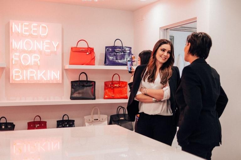 Beau Dunn Birkin Closet Kris Jenner