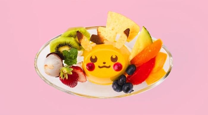 Pokémon Cafe Fruit and Jelly Plate
