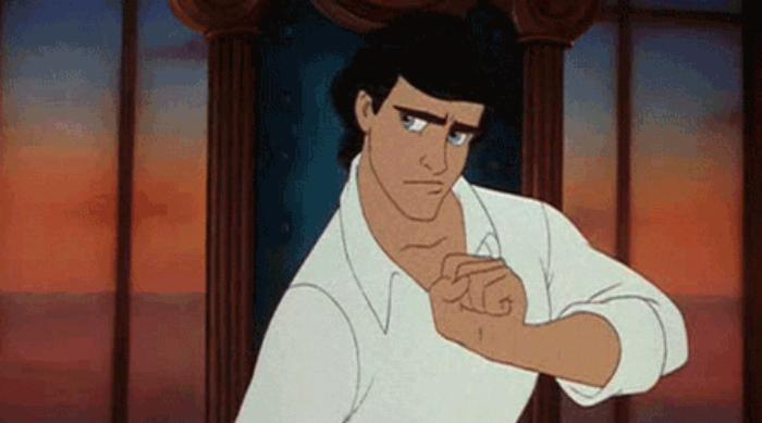 Prince Eric in Disney's The Little Mermaid