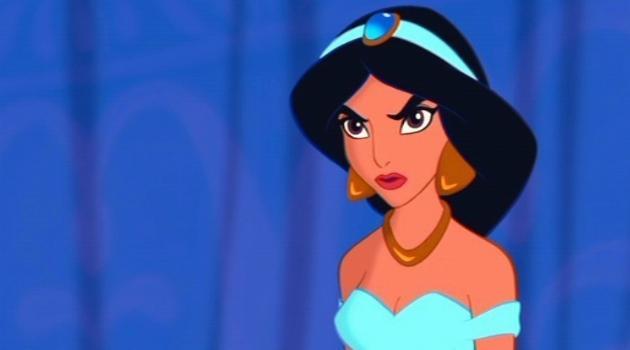 Aladdin: Princess Jasmine upset
