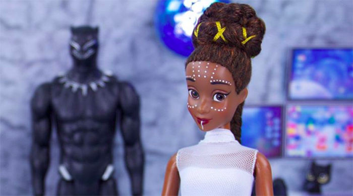 Handmade Black Panther Shuri doll from @myfroggystuff