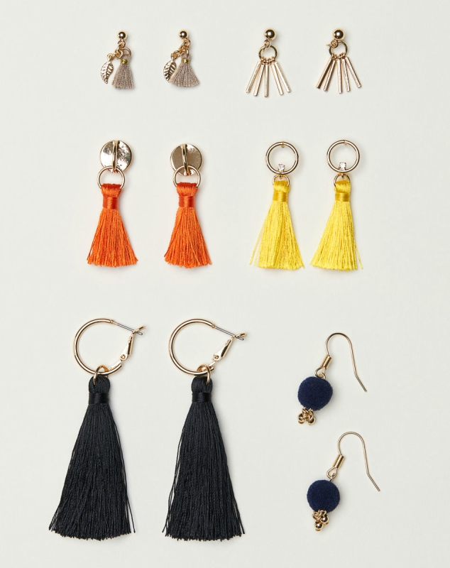 Assorted tassel earrings for the social butterfly