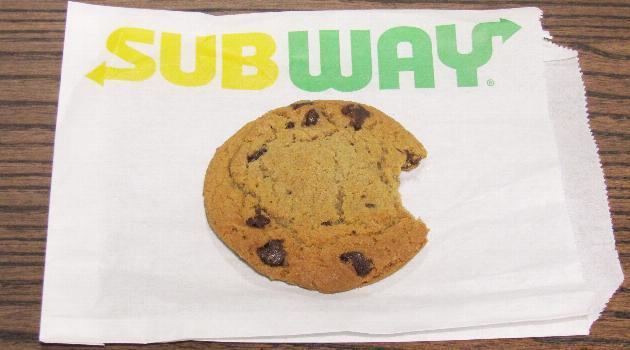 Image result for subway cookies