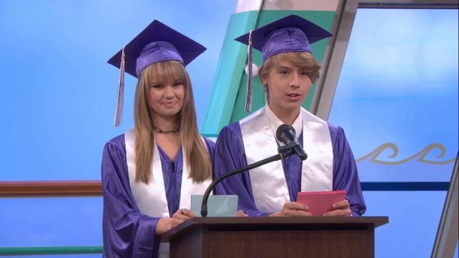 Suite Life on Deck graduation speech