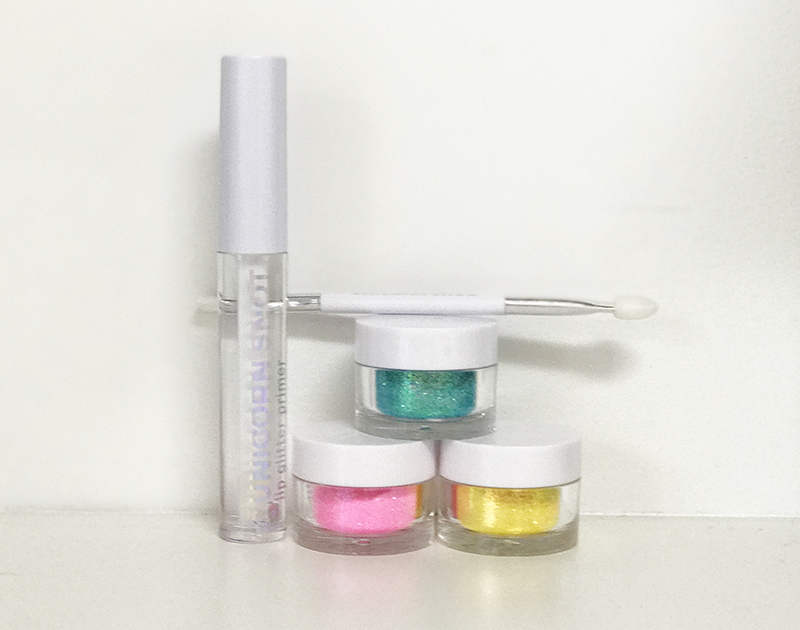 Unicorn Snot's Holographic Lip Glitter Kit