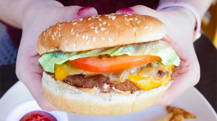 Veggie Grill's VG Beyond Burger