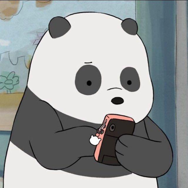 We Bear Bears: Panda texting