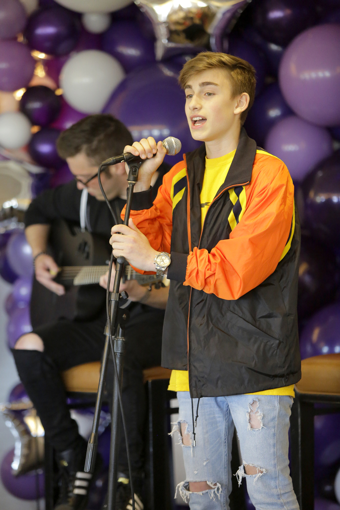 """Johnny Orlando closed the night with a live performance of his song """"Day & Night."""""""
