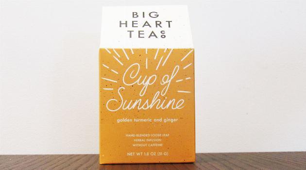 Big Heart Tea co. Cup of Sunshine