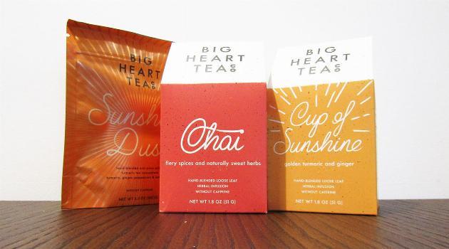 Big Heart Tea Co Tea Boxes
