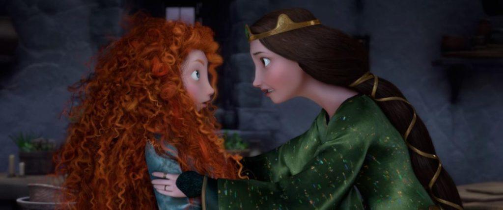Brave: Merida and her mom
