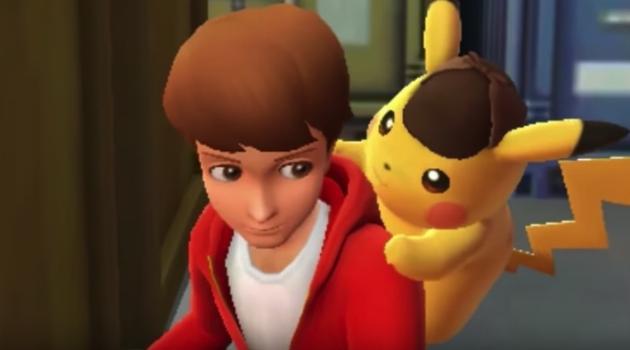 Detective Pikachu and Tim