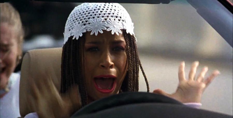 Dionne scared on freeway