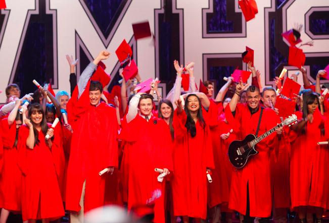 Graduation in Glee