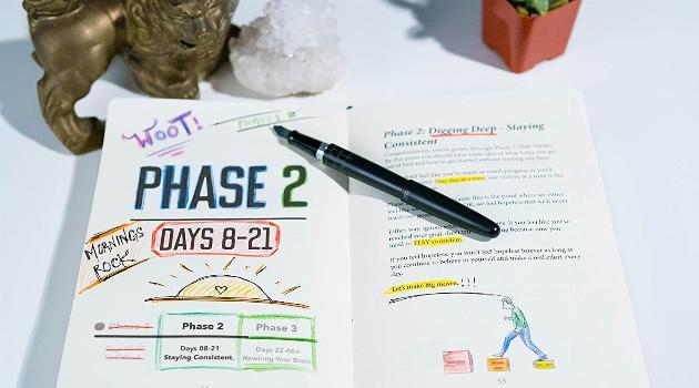 Morning Sidekick Journal phase 2