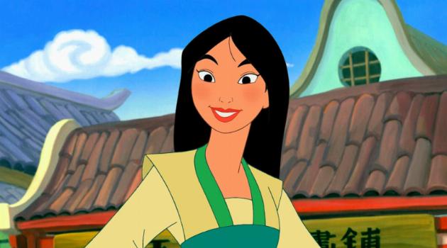 Mulan Smiling