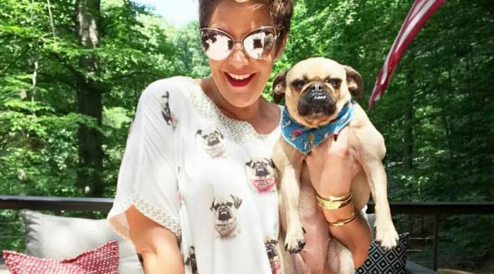 Patricia's Couture Pug Pajamas
