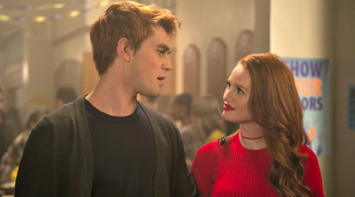 Cheryl and Archie From Riverdale