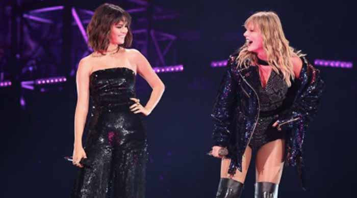 Taylor Swift Reputation Concert Selena Gomez