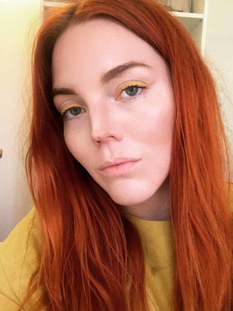 Yellow Eyeliner