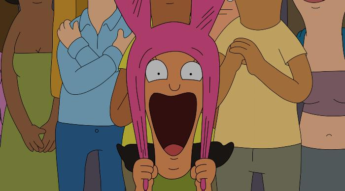Bob's Burgers: Louise crushing on a boy at a concert