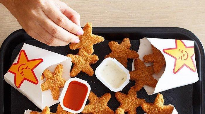 Carl's Jr Chicken Stars