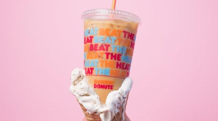Dunkin' Donuts ice cream-flavored coffee
