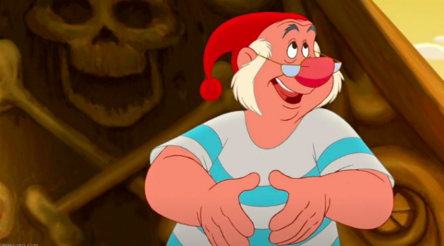 Mr. Smee from Peter Pan