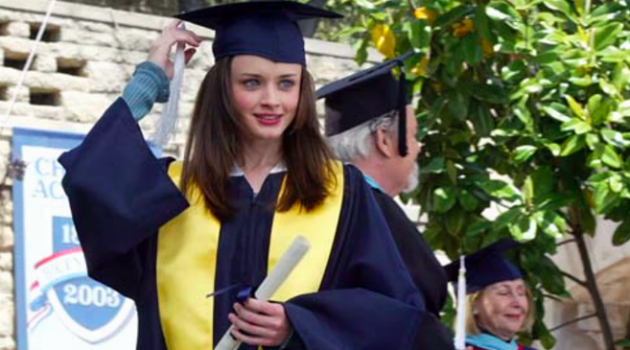 Rory From Gilmore Girls Graduation