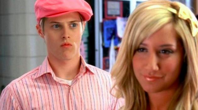 High School Musical Ryan Staring at Sharpay