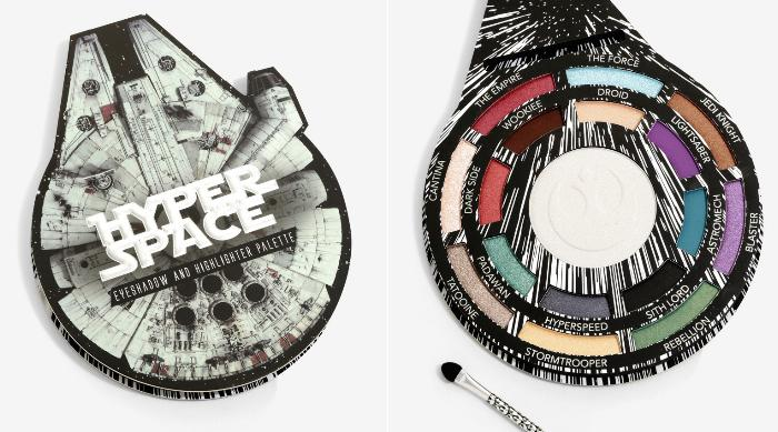 Her Universe Star Wars Hyperspace Highlighter and Eyeshadow Palette