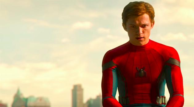 Tom Holland in Spider-Man