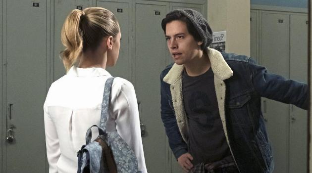 Jughead yelling at Betty on The CW's Riverdale