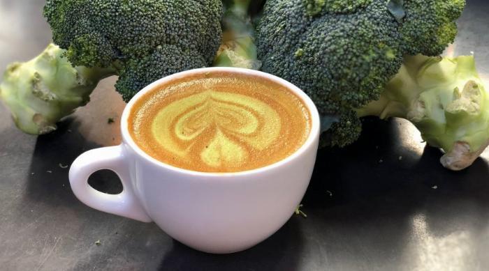 Broccoli latte