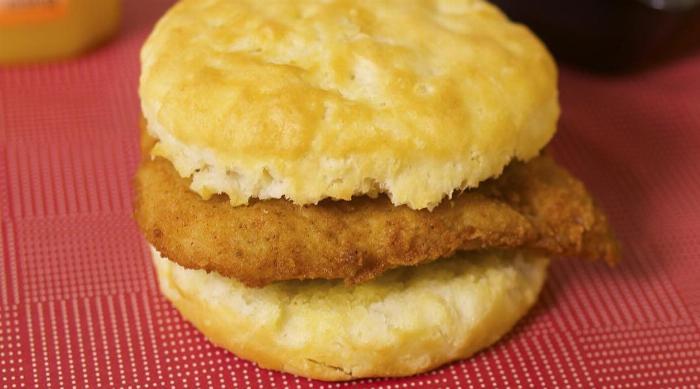 Instagram: Chick-fil-A chicken biscuit for breakfast