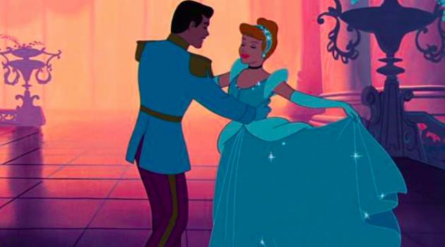 Cinderella And Prince Charming Dancing