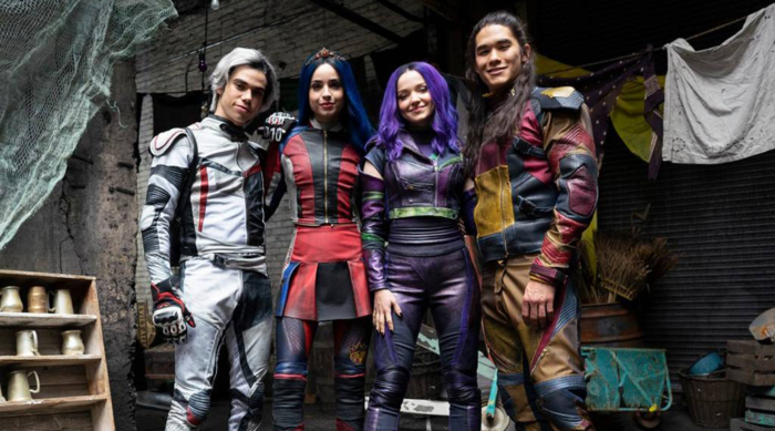 First look at Dove Cameron, Sofia Carson, Cameron Boyce and Booboo Stewart in Descendants 3