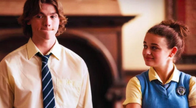 Elle and Lee From The Kissing Booth