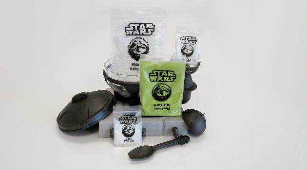Star Wars Science Jabba the Hutt Slime Lab: ingredients