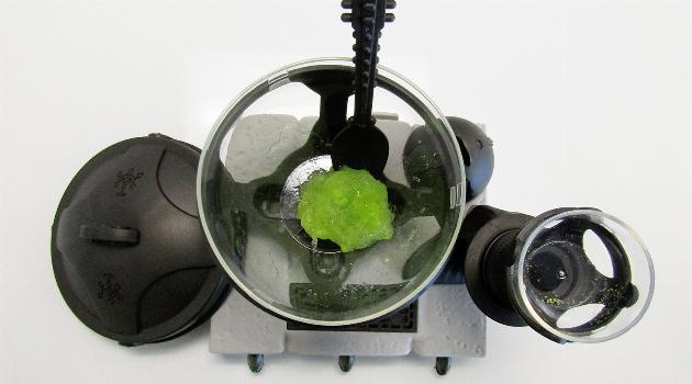 Star Wars Science Jabba the Hutt Slime Lab: Skin slim finished