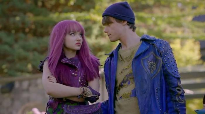 Mal and Ben arguing in Descendants 2