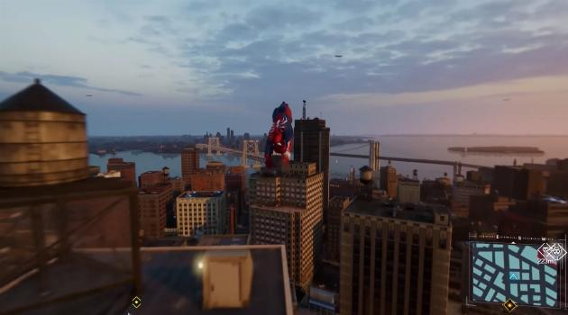 Marvel's Spider-Man for Playstation 4: cityscape
