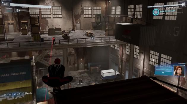Marvel's Spider-Man for Playstation 4: Demons warehouse