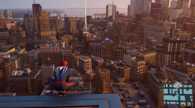 Marvel's Spider-Man for Playstation 4: waypoints