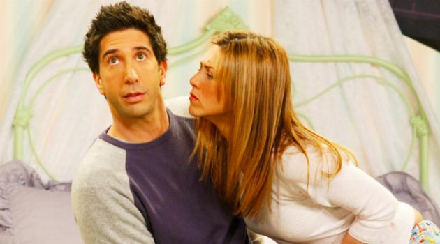 Rachel Trying to Kiss Ross