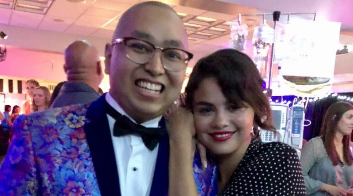 Selena Gomez at the CHOC Oncology Prom