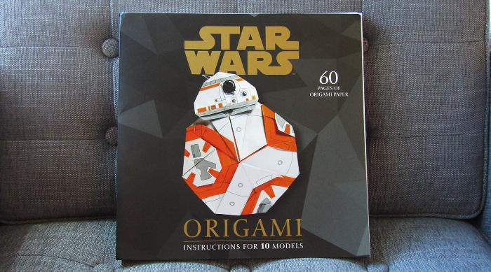Star Wars Origami book cover