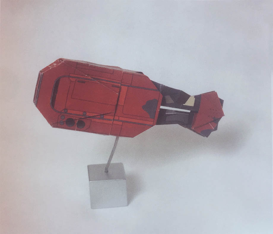 Star Wars Origami: Rey's speeder from book