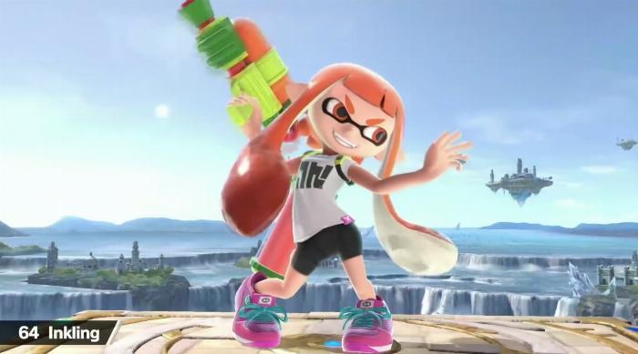 Super Smash Bros. Ultimate: Inkling Girl
